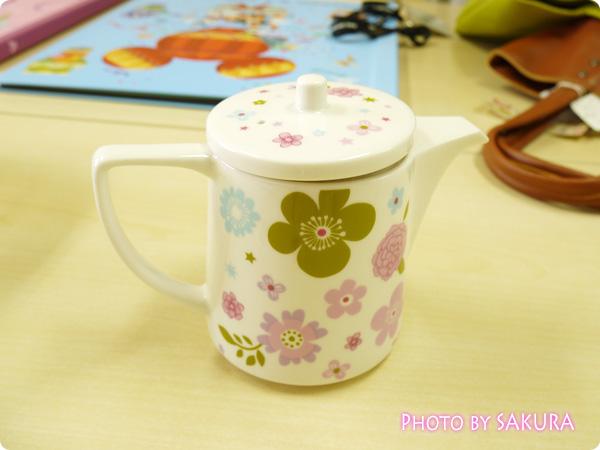 陶器のポット(mini labo)
