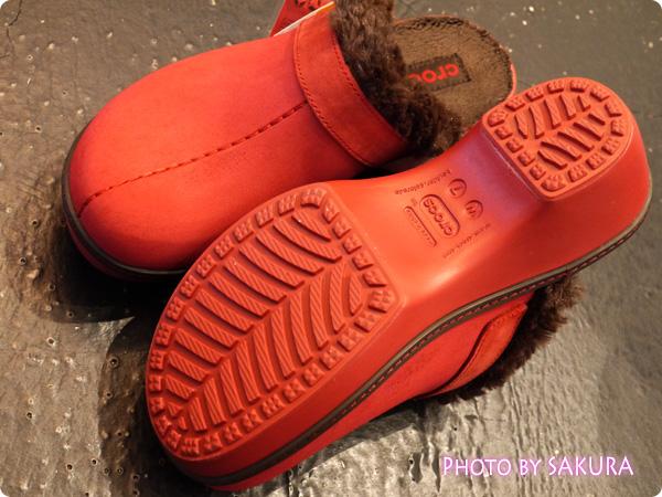 crocs cobbler buffed lined clog(クロックス コブラー バフド ラインド クロッグ) 靴底