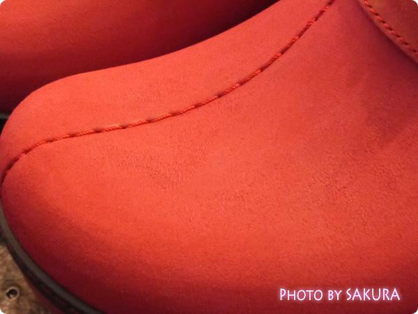 crocs cobbler buffed lined clog(クロックス コブラー バフド ラインド クロッグ)  甲の素材アップ