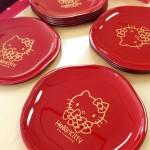 【おせち2014】新年をキティとともに迎えたい!可愛いハローキティお皿5枚セット