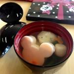 【おせち2014】ディズニー・ミッキーシルエットがカワイイ「汁椀5個セット」ベルメゾンオリジナル