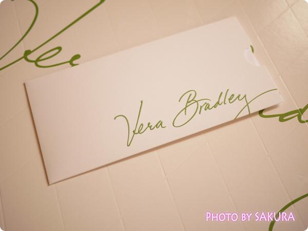 Vera Bradley ヴェラ・ブラッドリー 納品書