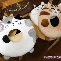 FELISSIMO(フェリシモ)「にゃんこのおなかで眠って 猫もついつい入りたくなる!? お昼寝クッションうたたねこの会」全6種類