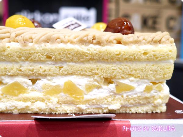 クリックオンケーキ Marrons Romance(マロンロマンス) ケーキのサイド