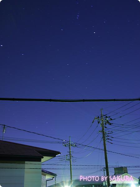夜景を綺麗に撮る f5.6 ISO-160 露出60秒 焦点距離20mm