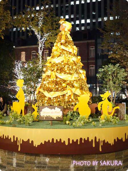 丸の内ブリックスクエア Winnie the Pooh ~くまのプーさんの100エーカーの森~ 全体