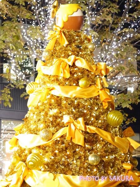 丸の内ブリックスクエア Winnie the Pooh ~くまのプーさんの100エーカーの森~ クリスマスツリーアップ1