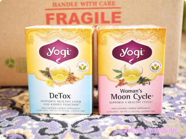 Yogi Tea(ヨギティー) Woman's Moon Cycle(ウーマンズムーンサイクル)、Detox(デトックス)