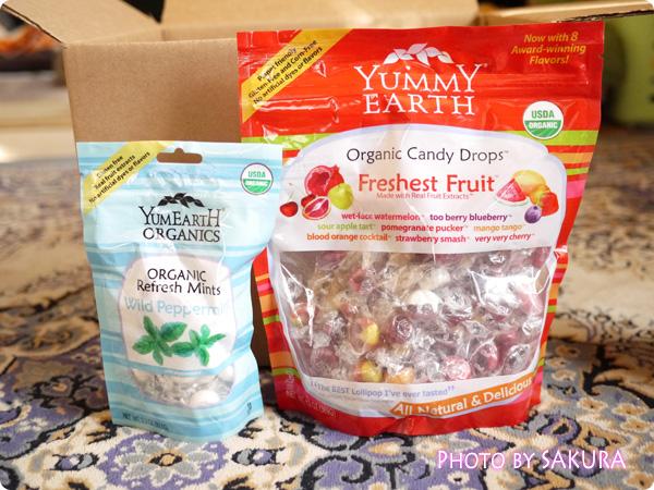Yummy Earth(ヤミーアース) オーガニックリフレッシュミント、オーガニックキャンディドロップス