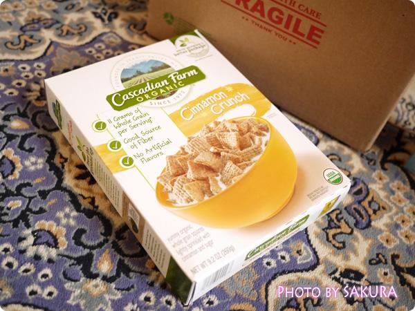 Cascadian Farm, Organic Cinnamon Crunch