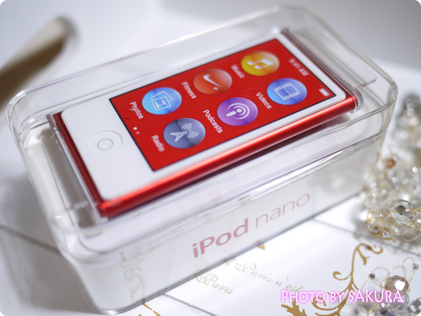 iPod nano 第7世代 [16GB] (PRODUCT)RED 箱入り