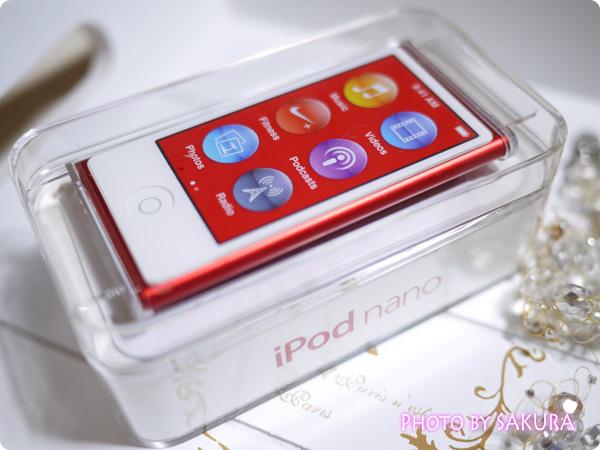 iPod nano 第7世代 [16GB] (PRODUCT)RED 箱入り