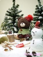 「くまのがっこう」のジオラマ展示がカワイイ『ジャッキーのハートフル・クリスマスinスカイツリーソラマチ』