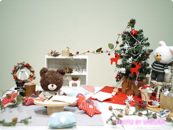 12月1日 クリスマスリースづくり 全体