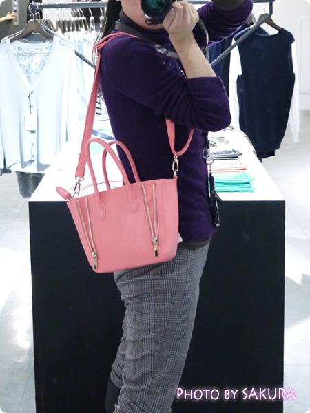 【PLST(プラステ)】2014春夏・新作発表会で見たファスナー使いがカワイイ2WAYのころんとしたバッグ