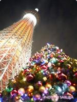 東京スカイツリークリスマス限定ライティング・キャンドルツリーとイルミネーションを見てきた