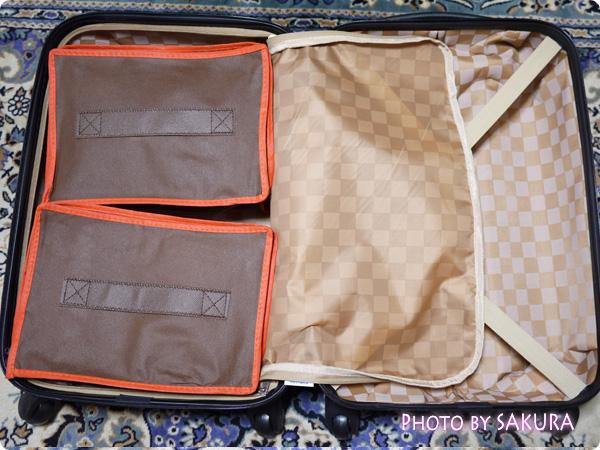 スーツケースの中の整理に・スーツケース用収納バック