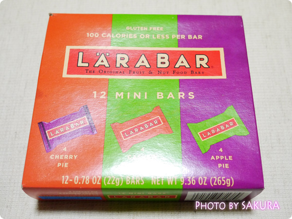 Larabar, Mini Multipack Bars, 12 Mini Bars, 0.78 oz (22 g) Each