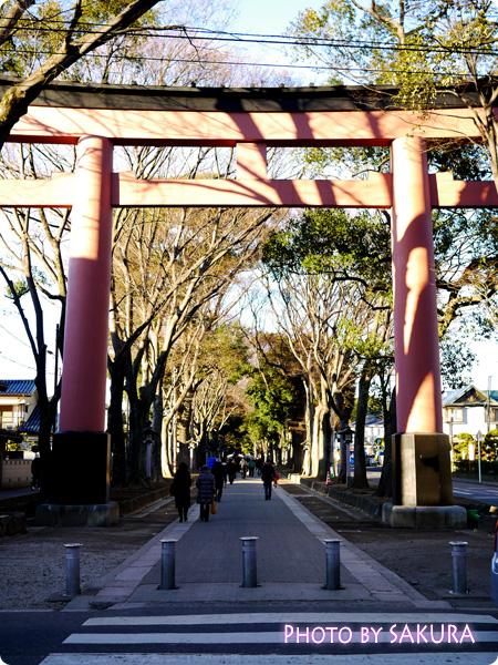 武蔵一宮 氷川神社 二の鳥居