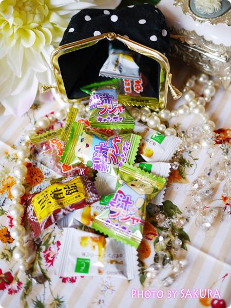 がま口専門店「AYANOKOJI-あやの小路」×good day コロロンがま口財布 13個の飴玉が入った