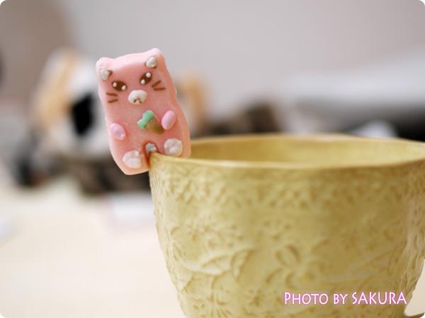 フェリシモ猫部・猫型と肉球のお砂糖でにゃんとも楽しいティータイム