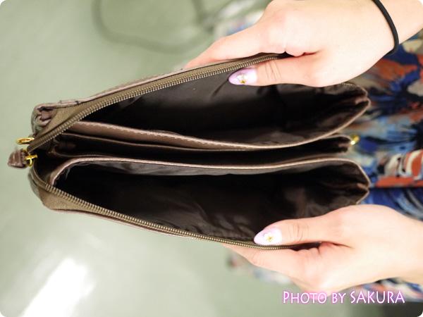 5ポケットショルダーバッグ 内側のポケット
