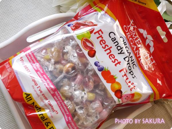 Yummy Earth(ヤミーアース) オーガニック キャンディードロップス フレッシュフルーツ
