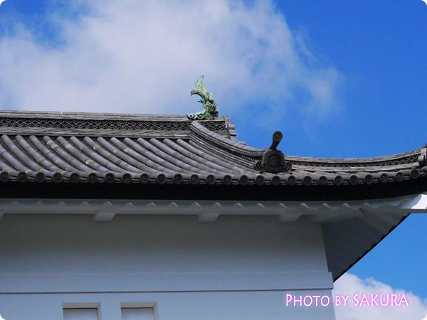 皇居 坂下門 屋根