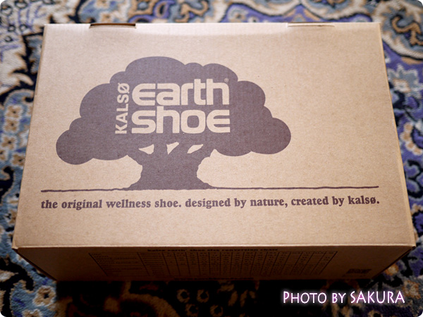 Kalso Earth Shoes(カルソーアースシューズ) オリジナルの箱入り