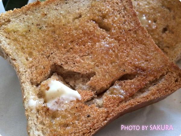 小麦・乳製品・卵不使用 マイセン「白焼き玄米パン」トーストで焼いてみた