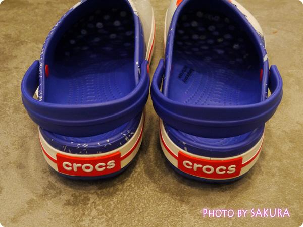 crocband Japan clog クロックバンド ジャパン クロッグ かかと