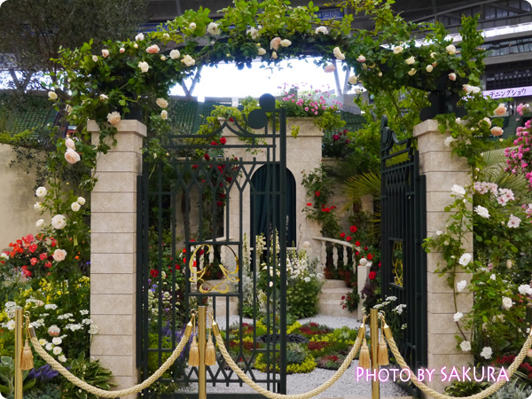 第16回国際バラとガーデニングショウ『モナコ公国公妃 グレース・ケリーの庭』門
