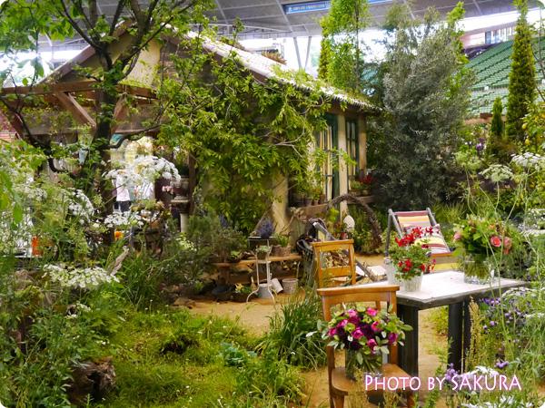 フラワーアーティスト ローラン・ボーニッシュ 『Provance~プロヴァンスな幸せな一日~』庭全体