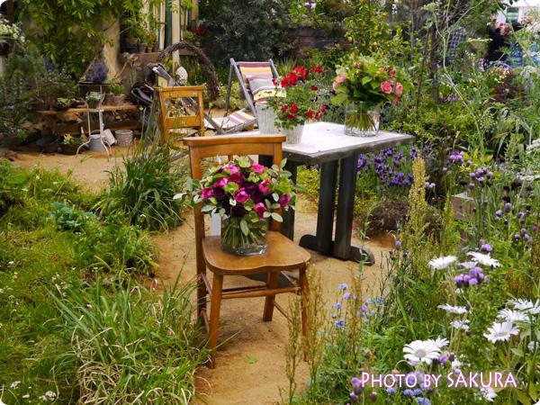 フラワーアーティスト ローラン・ボーニッシュ 『Provance~プロヴァンスな幸せな一日~』 外テーブルアップ