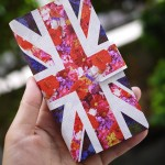 花柄ユニオンジャックで人と被らない手帳型スマホiPhoneケースはいかが?