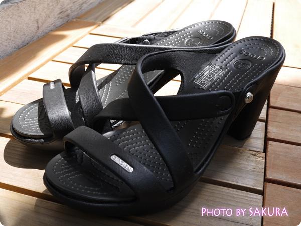 cyprus 4.0 heel w サイプラス 4.0 ヒール ウィメン ブラック全体