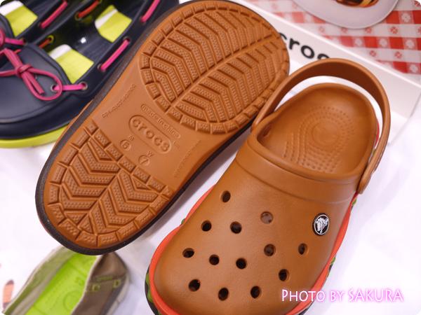 【オンラインショップ限定】crocs クロックス超レアモデル クロックバンド ハンバーガークロッグ 靴底