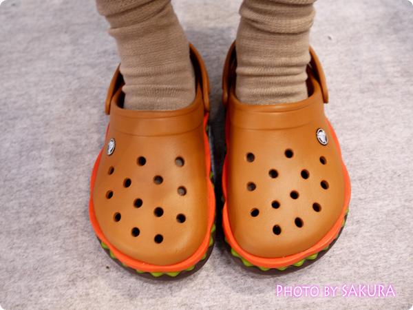 【オンラインショップ限定】crocs クロックス超レアモデル  クロックバンド ハンバーガークロッグ 履いていた1