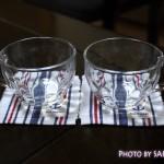 FANCLファンケルオリジナル耐熱グラス「クール&ホット仕様ペアカップ」もらった