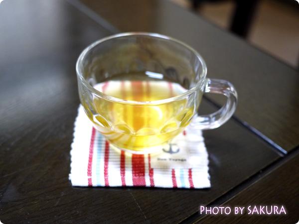 FANCLファンケル クール&ホット仕様ペアカップ お茶を淹れてみた