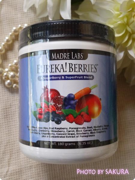 Madre Labs, エウレカ! ベリー・スーパーベリー&スーパーフルーツブレンド 6.35オンス(180 g)