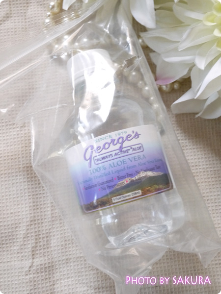 George's Aloe Vera, 100% Aloe Vera Liquid, 8 fl oz (236 ml)