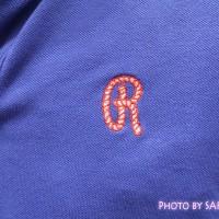 ランズエンド 刺繍のアップ