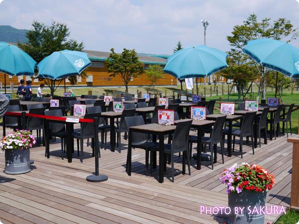 軽井沢プリンスショッピングプラザ(軽井沢アウトレット) ドッグデプト+カフェ テラス席