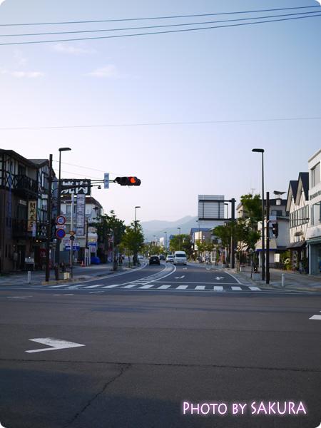 軽井沢駅前通り