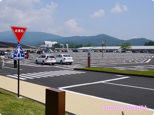 軽井沢プリンスショッピングプラザ(軽井沢アウトレット) 駐車場