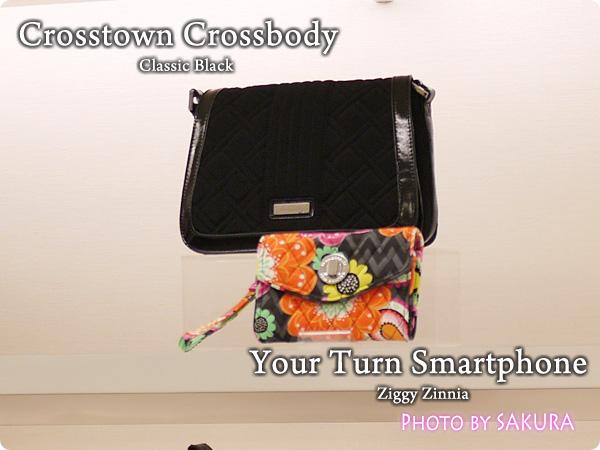 Vera Bradley ヴェラブラッドリー  Your Turn Smartphone Wristlet  ユア・ターン・スマートフォン・リストレット Crosstown Crossbody クロスタウン・クロスボディ
