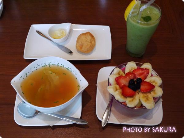 CAFE BANYAN(カフェ バニヤン)で食べたもの