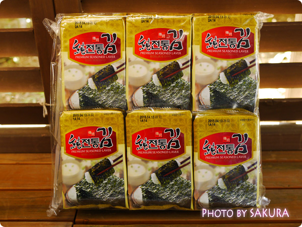 ソチョン 韓国伝統味付のり 8枚×12p入り