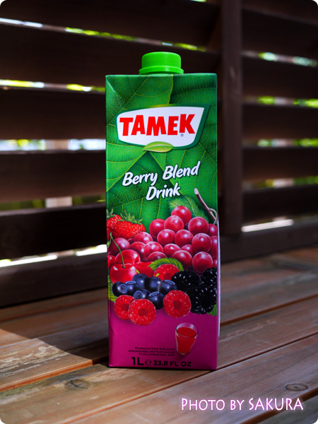 TAMEK Bery Blend Drink